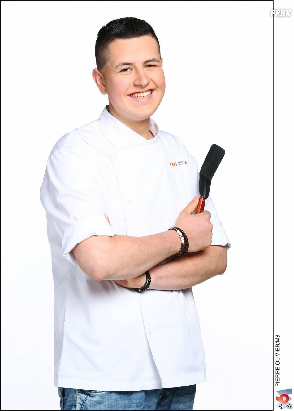 """Top Chef 2016 :Charles Gantois (20 ans) : Commis de cuisine dans le restaurant """"Cap Estel - La Table de Patrick Raingeard"""" (Eze, Alpes-Maritimes) / Ses Mentors : Frédéric Anton et Mathieu Klein / Gagnant du concours """"Objectif Top Chef"""""""