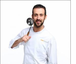 """Top Chef 2016 :Clément Bruneau (34 ans) : Second de Cuisine dans le restaurant """"Le Prince Noir"""" (Yvrac, Gironde) / Ses Mentors : Vivien Durand et Jean-Marie Gauthier"""