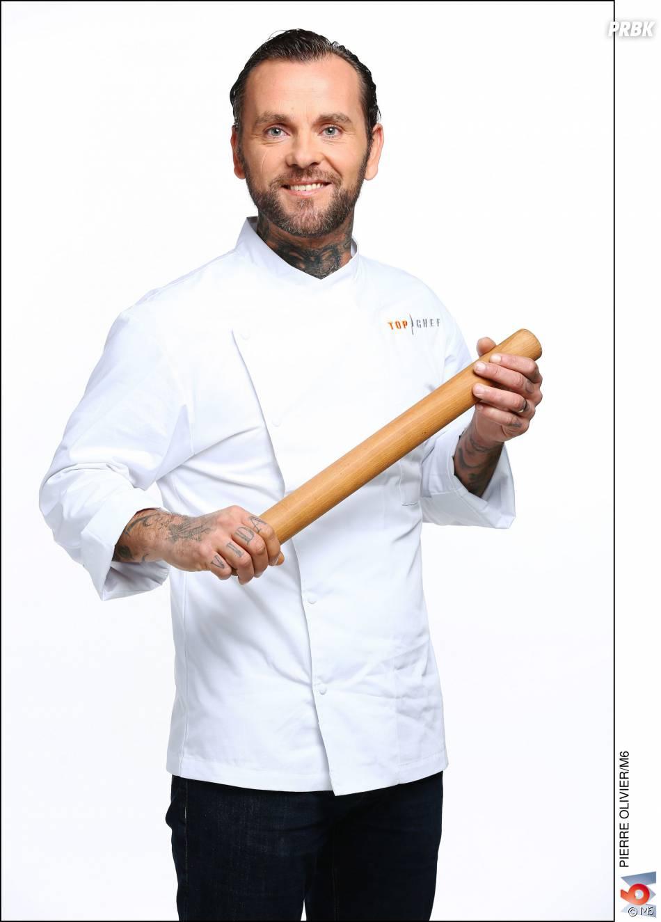 """Top Chef 2016 :Franck Radiu (35 ans) : Chef de son restaurant """"O' Fagot"""" (Valras Plage, Hérault) / Ses Mentors : Eric Fréchon et Jacques Augé"""