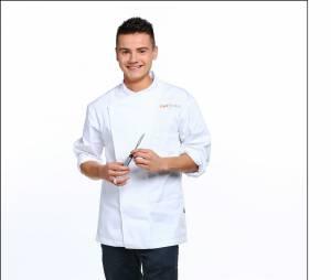 """Top Chef 2016 :Gabriel Evin (22 ans) : Second de cuisine dans le restaurant """"Sabayon""""(Morangis, Essonne) / Ses Mentors : Patrick Dubois et Jean-François Piège"""