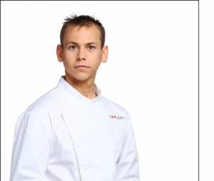 """Top Chef 2016 :Nicolas Seibold (22 ans) : Demi-Chef de partie dans le restaurant """"La Dame de Pic"""" (Paris) / Son Mentor: Frédéric Galand"""