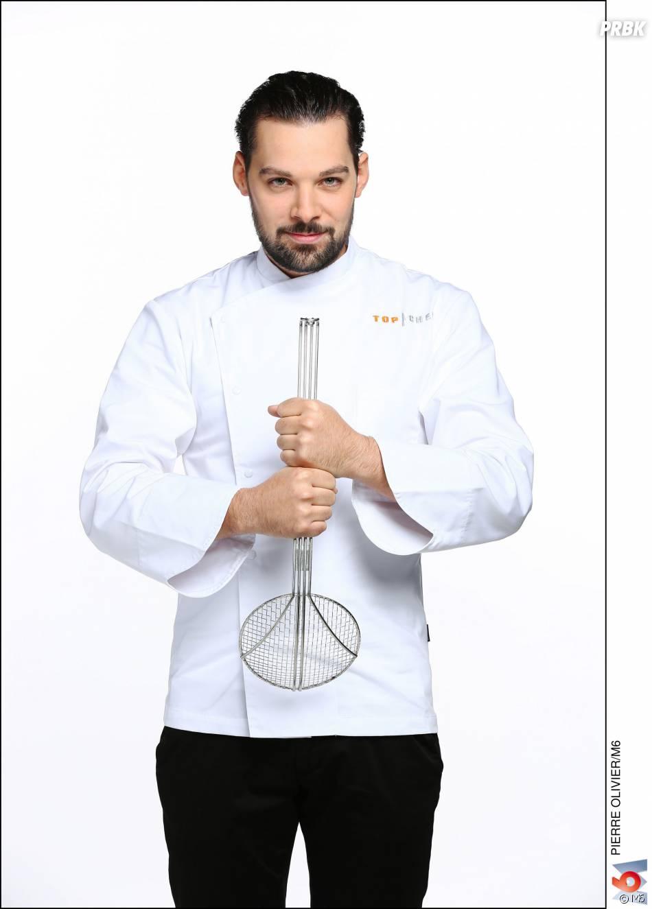 """Top Chef 2016 :Xavier Pincemin (25 ans) : Second de Cuisine dans le restaurant """"Gordon Ramsay"""" (Versailles, Yvelines) / Ses Mentors : Gordon Ramsay et Alain Ducasse"""
