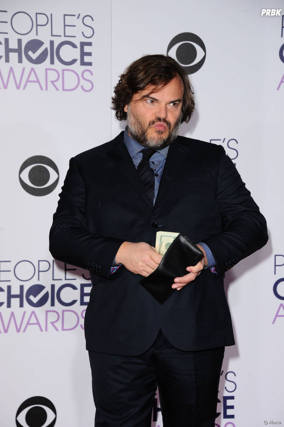 People's Choice Awards 2016 : Jack Black sur le tapis rouge le 6 janvier