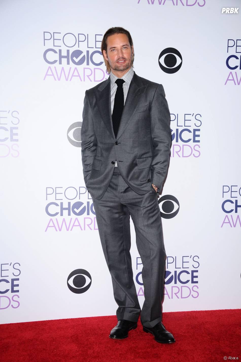 People's Choice Awards 2016 : Josh Holloway sur le tapis rouge le 6 janvier