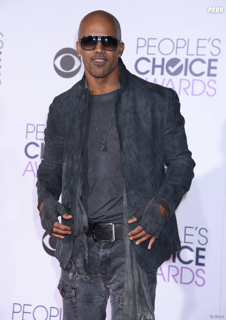 People's Choice Awards 2016 : Shemar Mooresur le tapis rouge le 6 janvier