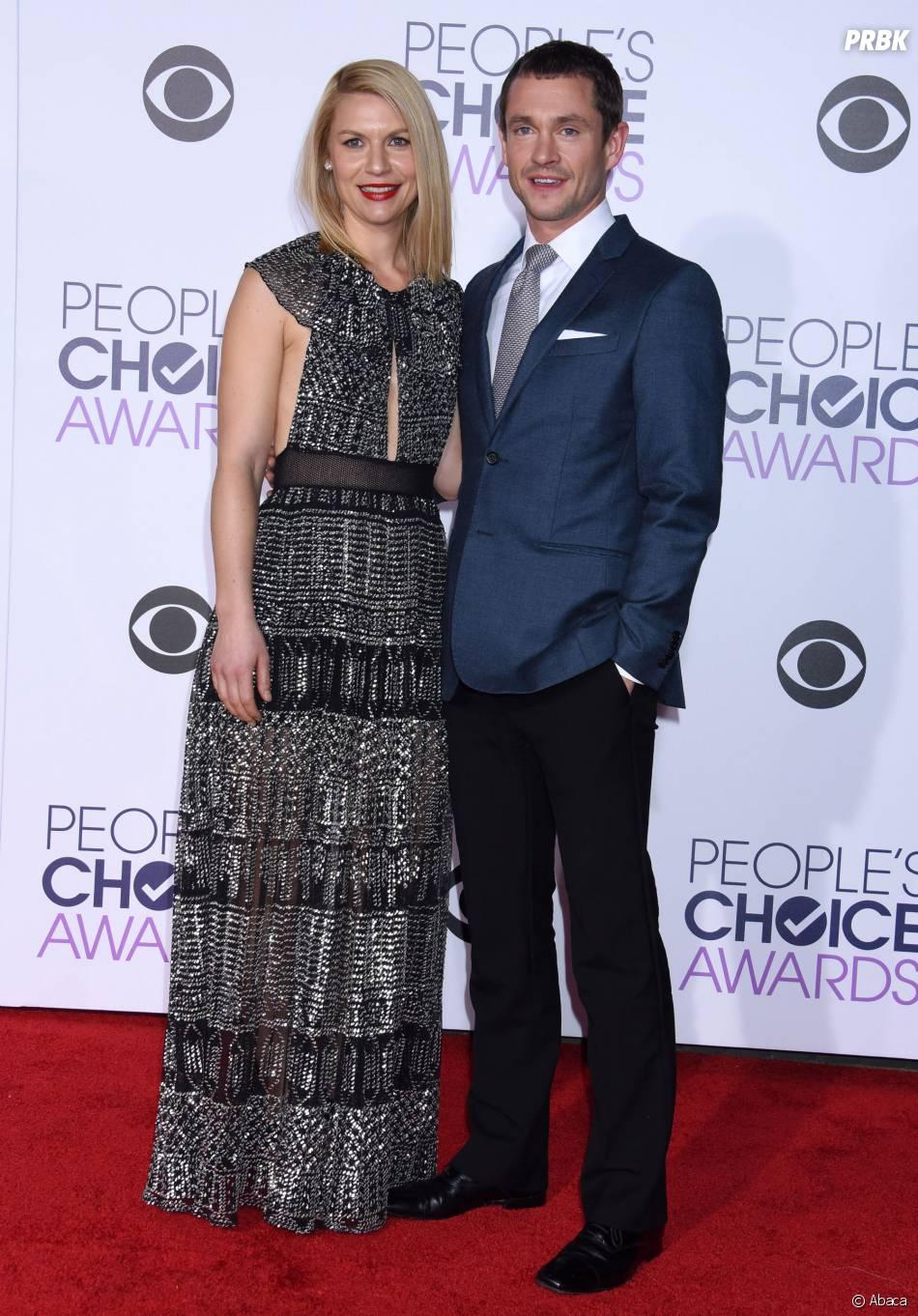 People's Choice Awards 2016 : Claire Danes et Hugh Dancy sur le tapis rouge le 6 janvier