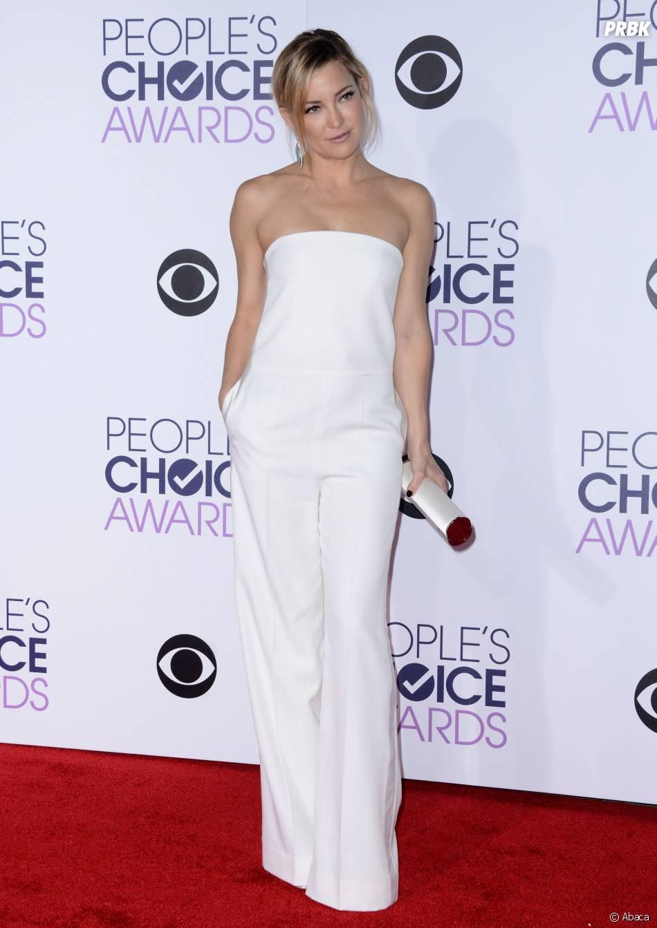 People's Choice Awards 2016 : Kate Hudson sur le tapis rouge le 6 janvier