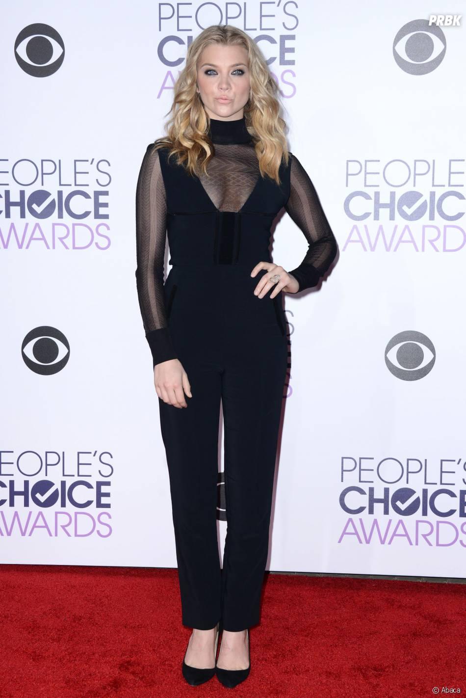 People's Choice Awards 2016 : Natalie Dormer sur le tapis rouge le 6 janvier