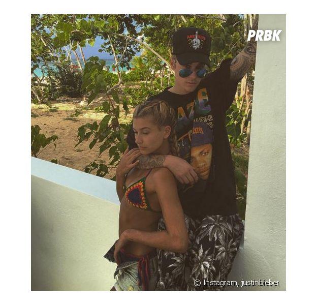 Justin Bieber et Hailey Baldwin complices pendant des vacances paradisiaques