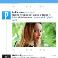 Nabilla Benattia : participation aux Anges 8 annulée par la justice ? Sa réponse cash sur Twitter