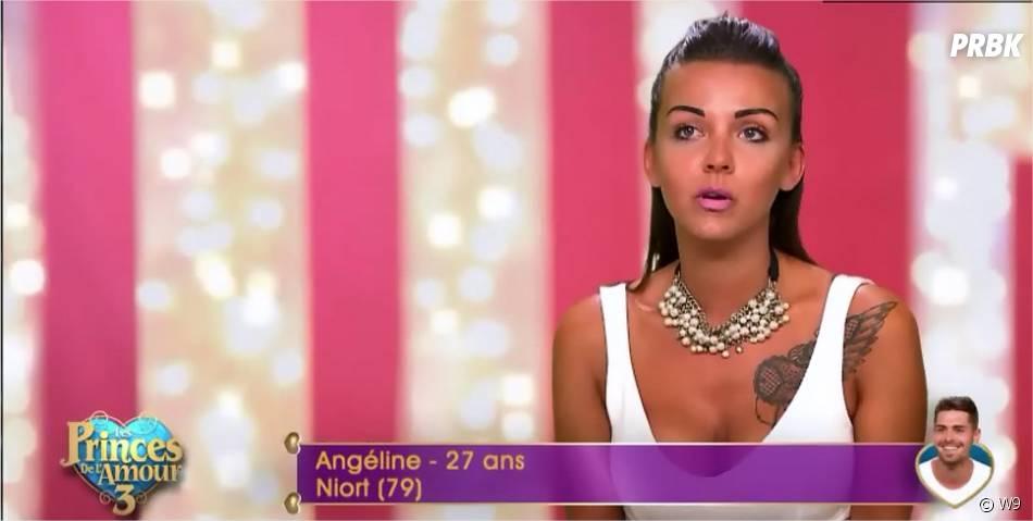 Angéline (Les Princes de l'amour 3) dans l'épisode du 26 janvier 2016 sur W9