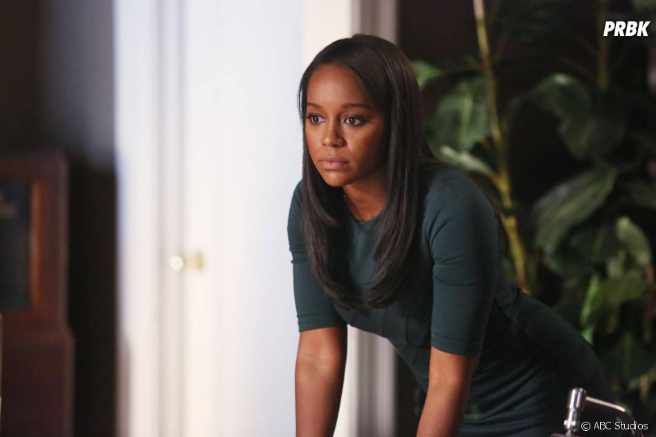How To Get Away with Murder saison 2, épisode 10 : Michaela (Aja Naomi King) sur une photo