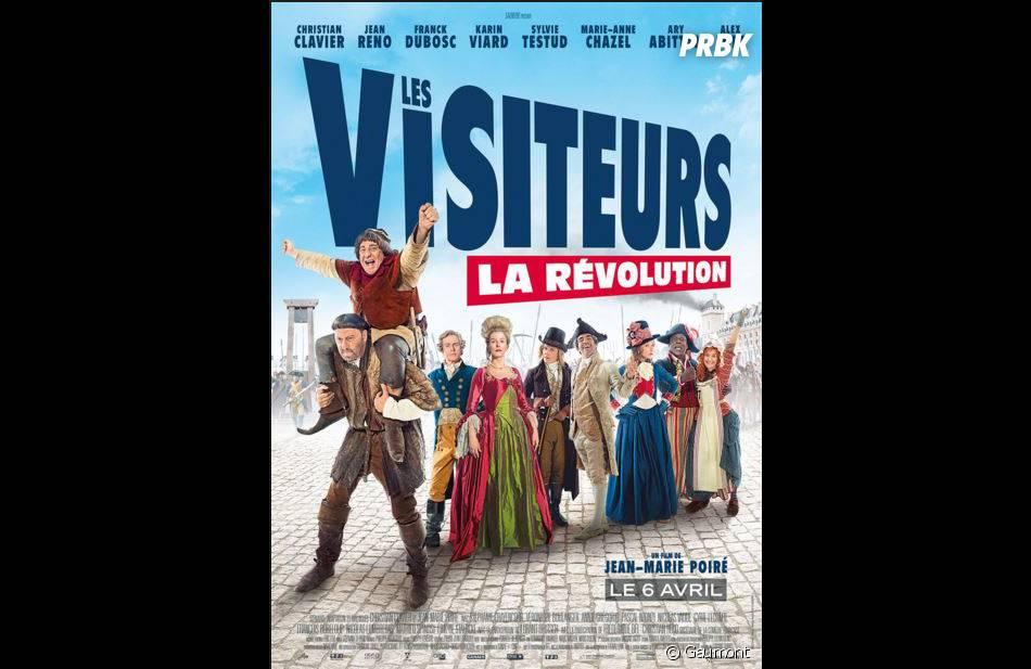 Les Visiteurs 3 : l'affiche du film