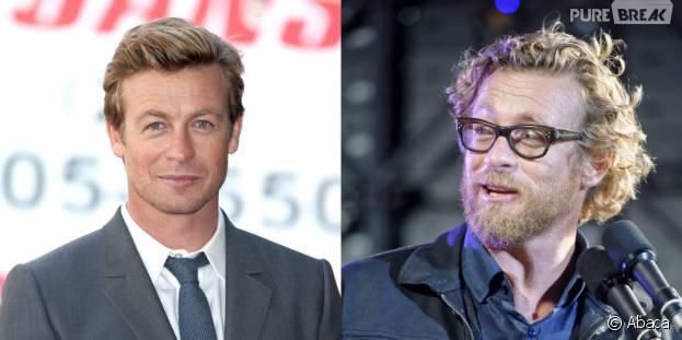 Simon Baker : barbe et cheveux longs - changement de look pour l'ex acteur du Mentalist