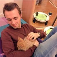 Squeezie : message touchant sur Facebook après la mort de son chaton