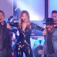 Gigi Hadid ultra sexy pour une prestation... avec les Backstreet Boys