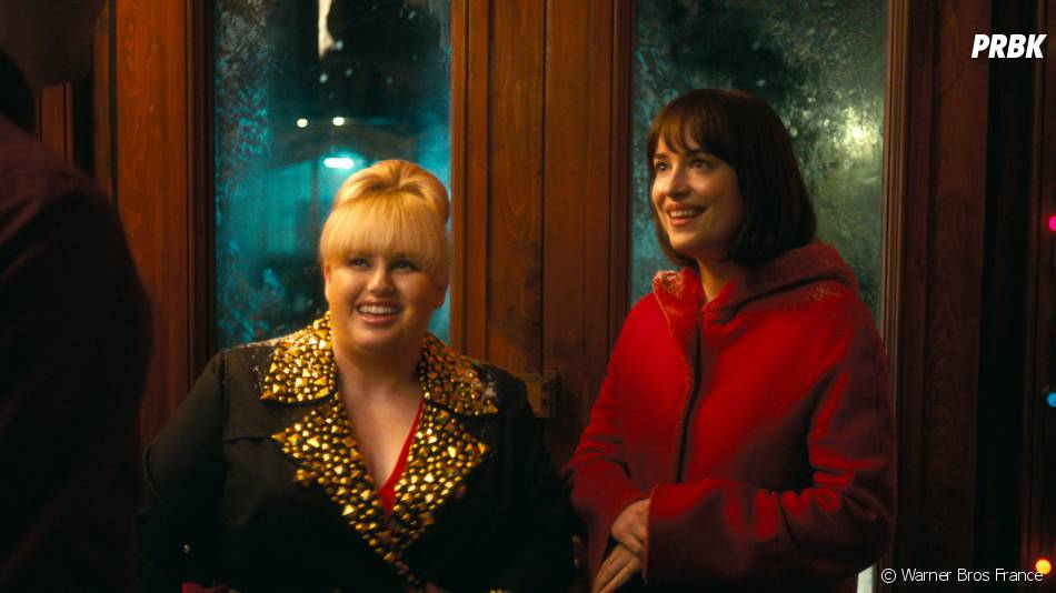 Célibataire mode d'emploi : Dakota Johnson et Rebel Wilson sur une photo