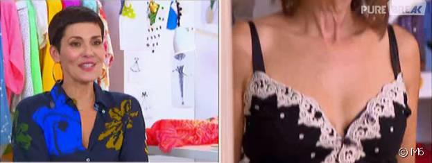 Cristina Cordula choquée par le look de Jaqueline dans Les reines du shopping le 23 février 2016