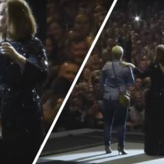 """Adele """"force"""" un homme à accepter la demande en mariage de sa copine en plein concert"""