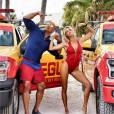 Alerte à Malibu : Dwayne Johnson et la sexy Kelly Rohrbach sur le tournage du film à Miami
