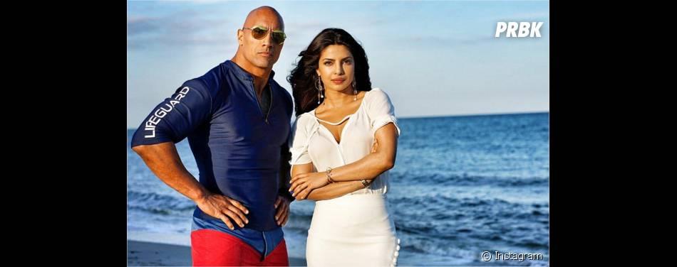 Alerte à Malibu : Dwayne Johnson et la sexy Priyanka Chopra sur le tournage du film à Miami