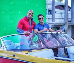 Alerte à Malibu : Zac Efron et Dwayne Johnson dans les coulisses du tournage du film à Miami