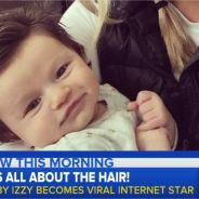 Baby Izzy : le bébé chevelu déjà star du web