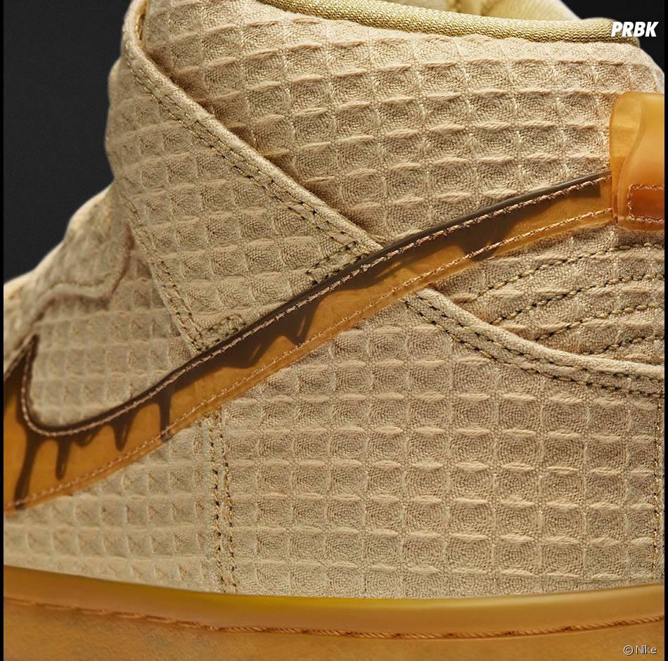 """Nike SB DUNK HIGH PREMIUM """"WAFFLE"""" : les baskets originales qui vont vous donner faim"""