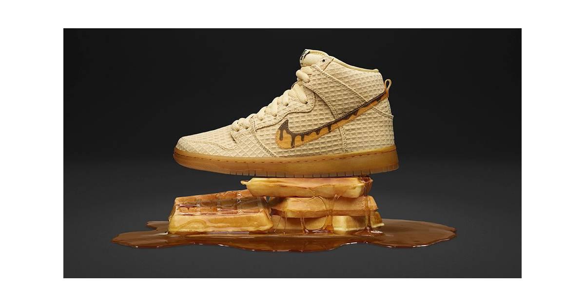 Nike gaufres invente des Chaussuresinspirées des gaufres Nike et du poulet bb1ddb
