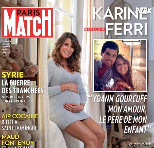 Karine Ferri aurait accouché d'un petit garçon, Yoann Gourcuff papa