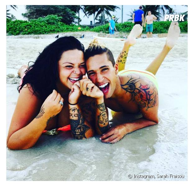 Sarah Fraisou (Les Anges 8) et Eddy complices sur une photo Instagram