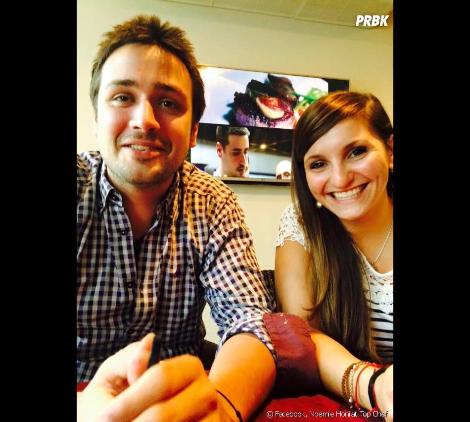 Quentin Bourdy (Top Chef 4) et Noëmie Honiat (Top Chef 3) en couple et amoureux