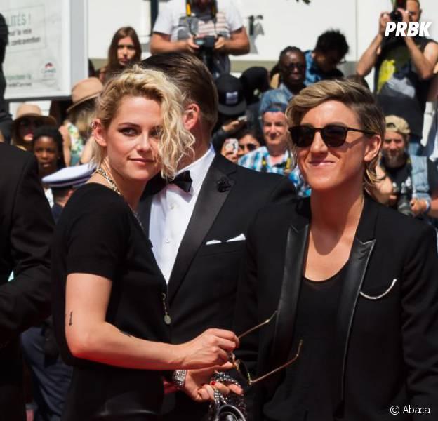 Kristen Stewart et son ex Alicia Cargile sur le tapis rouge de American Honey le 15 mai 2016 au Festival de Cannes