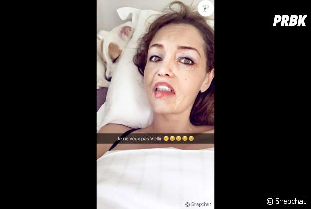 Nabilla s'éclate avec les filtres de Snapchat !