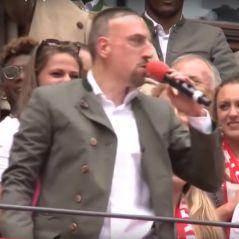 """Franck Ribéry : ce moment gênant où il chante """"Aux Champs-Elysées"""" face aux supporters allemands"""