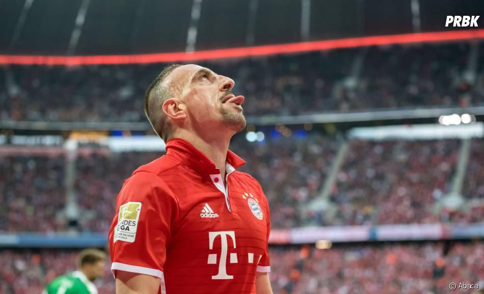 Moment gênant pour Franck Ribery à Munich !
