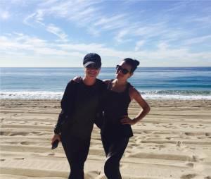 Becca Tobin toujours très proche de Lea Michele depuis la fin de Glee