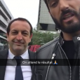 Nabilla Benattia et Thomas Vergara accros à snapchat, même pendant le procès !