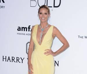 Heidi Klum au gala de l'amfAR.