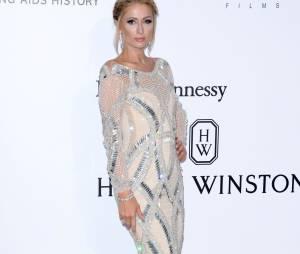Paris Hilton au gala de l'amfAR.