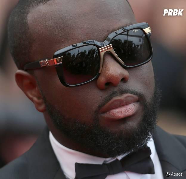 Maître Gims au Festival de Cannes.