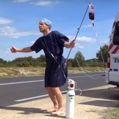 Rémi Gaillard aux urgences : la vidéo loufoque