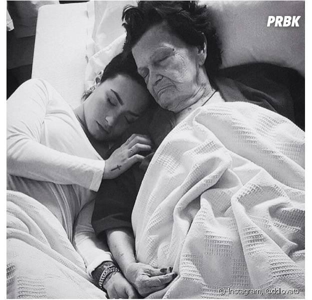 Demi Lovato vient de perdre sa grand-mère