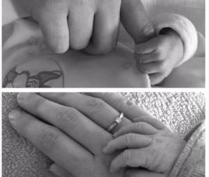 Aline (L'amour est dans le pré 2015) maman : première photo de son bébé