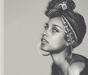 Alicia Keys sans maquillage sur la pochette de son nouvel ablum, In Common