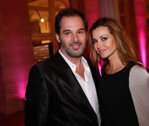 Ingrid Chauvin et Thierry Peythieu parents d'un petit Tom