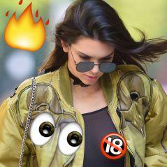 Kendall Jenner sexy et provoc' 👀 : elle dévoile ses seins en pleine rue avec un top transparent