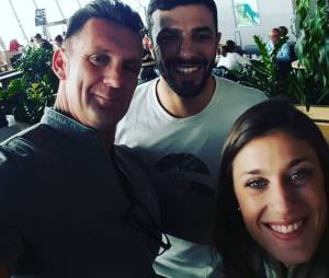 Laureen, Pascal et Romain sur Instagram