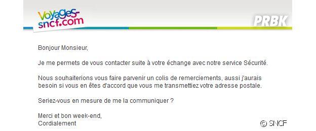 Un étudiant découvre un bug SNCF et voyage gratuitement.