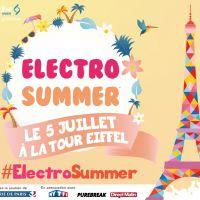 Electro Summer : un concert géant à la Tour Eiffel le 5 juillet !